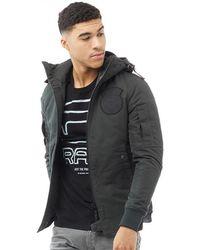 G-Star RAW - Batt Hooded Lightweight Jacket Fearn - Lyst