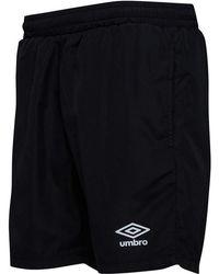Umbro - Herren Active Style Woven Core Shorts Schwarz - Lyst