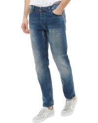 Only & Sons - Loom Slim Fit Jeans Medium Blue Denim - Lyst