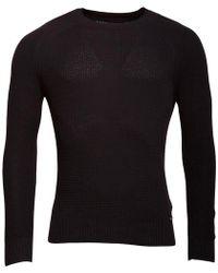 DIESEL   K-alby Knitwear Jumper Black   Lyst