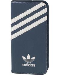 adidas Originals - Booklet Iphone 6/6s Case Dark Blue/white - Lyst