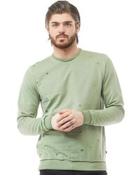 Only & Sons - Jeffrey Crew Neck Top Bronze Green - Lyst