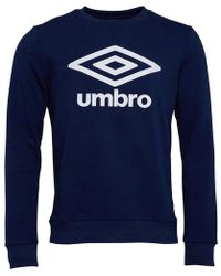 cbf69fadd27 Umbro Training Raglan Sweatshirt in Black for Men - Lyst