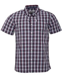 883 Police - Sigma Shirt Navy Check - Lyst