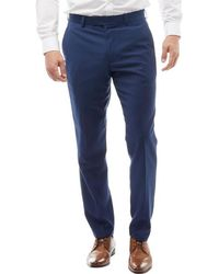 French Connection - Plain Ticket Pocket Trousers Blue - Lyst