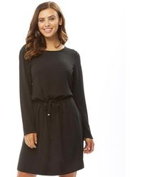 ONLY - Nova Lux Draw String Dress Black - Lyst