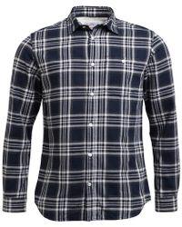 Jack & Jones - Christopher Long Sleeve Shirt Total Eclipse - Lyst