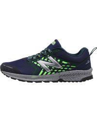 New Balance - Nitrel Trail Running Shoes Navy - Lyst