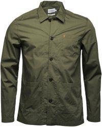 Farah - Albyns Shirt Military Green - Lyst