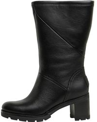 05e962e3e37 UGG Jessia Block Heeled Ankle Boots in Brown - Lyst