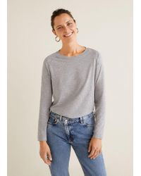 Mango - Organic Cotton T-shirt - Lyst