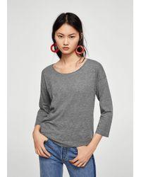 Mango - Long Sleeve T-shirt - Lyst