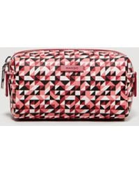 Mango - Geometric Print Cosmetic Bag - Lyst