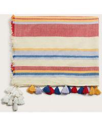 Violeta by Mango - Striped Pareo Towel - Lyst