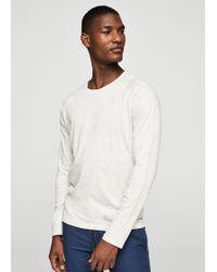 Mango - Flecked Cotton Pyjamas - Lyst