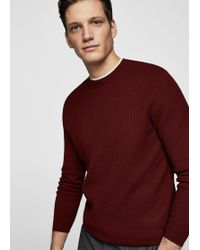 Mango - Knit Cotton Jumper - Lyst