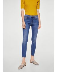 Mango | Crop Skinny Isa Jeans | Lyst