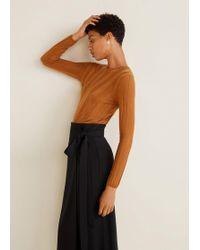 Mango - Bow Wrap Skirt - Lyst
