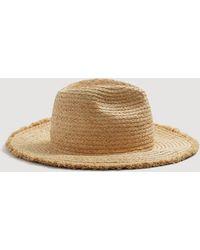 Mango - Straw Hat - Lyst