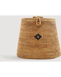Mango - Bamboo Handmade Backpack - Lyst