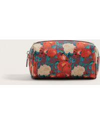 Violeta by Mango - Floral-print Cosmetic Bag - Lyst