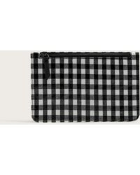 Violeta by Mango - Gingham Check Cosmetic Bag - Lyst