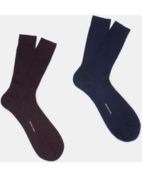 Mango | 2 Pack Ribbed Socks | Lyst