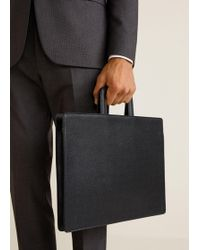 Mango - Saffiano-effect Laptop Case - Lyst
