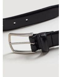 Mango | Buckle Leather Belt | Lyst
