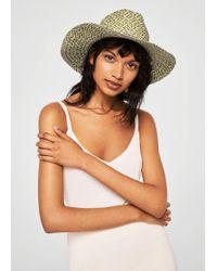Mango - Hat - Lyst