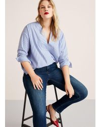 Violeta by Mango - Slim-fit Push Up Mariah Jeans - Lyst