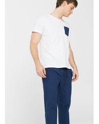 Mango - Polka-dot Long Pyjamas - Lyst