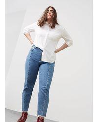 Violeta by Mango - Mom-fit Desi Jeans - Lyst