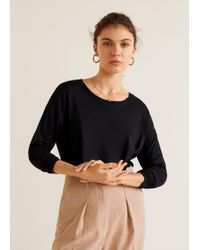 Mango - Long Sleeve T-shirt - Lyst