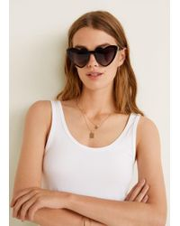 Mango - Heart-shape Sunglasses - Lyst