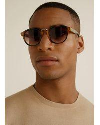 Mango - Metal Bridge Sunglasses - Lyst