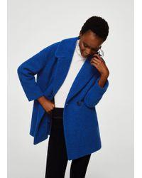 Mango | Unstructured Wool-blend Coat | Lyst