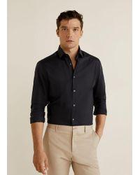 Mango - Slim-fit Stretch Cotton Shirt - Lyst