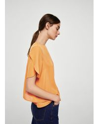 Mango - Double-layer Blouse - Lyst