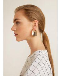 Mango - Metal Earrings - Lyst