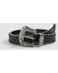 Mango - Cowboy Style Belt - Lyst
