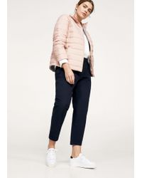 Violeta by Mango - Pocket Quilted Jacket - Lyst