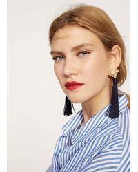 Violeta by Mango - Tassels Pendant Earrings - Lyst