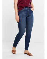 Violeta by Mango - Slim-fit Susan Jeans - Lyst