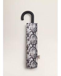 Mango - Snake Print Umbrella - Lyst