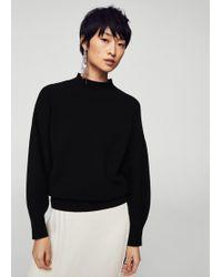 Mango - Puffed Sleeves Sweater - Lyst