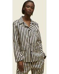 Marc Jacobs - Stripe Cotton Pajama Set - Lyst