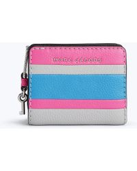 Marc Jacobs - The Colorblocked Grind Mini Compact Wallet - Lyst