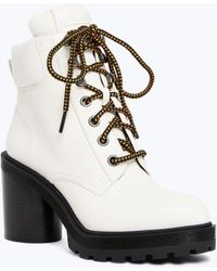 Marc Jacobs - Boots Crosby In White Goatskin - Lyst