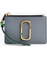 Marc Jacobs - Snapshot Top Zip Multi Wallet - Lyst